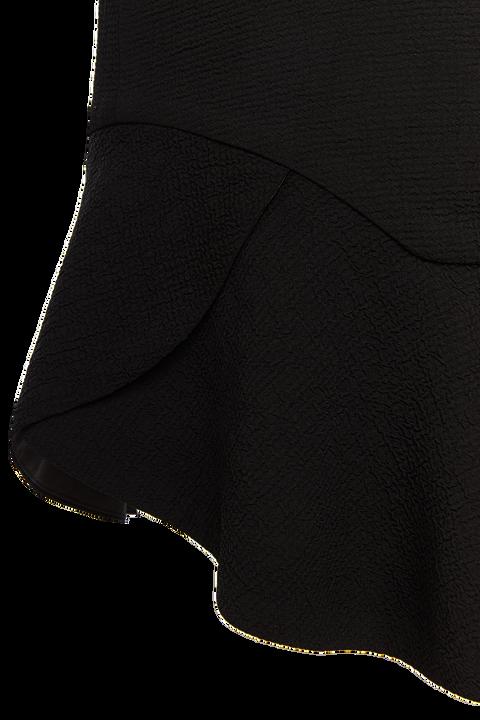 FAY FLUTTER MINI SKIRT in colour CAVIAR