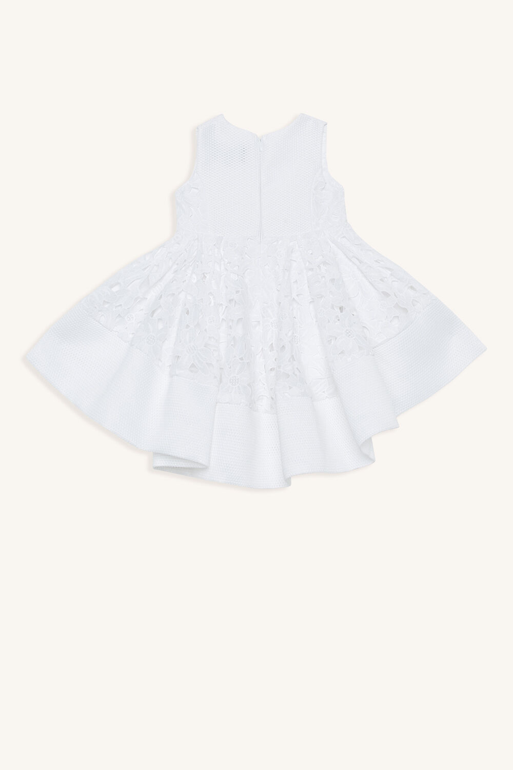 PEARL AVA DRESS in colour CLOUD DANCER