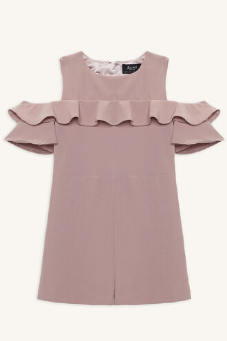 EMMALINE PLAYSUIT in colour ROSE SMOKE