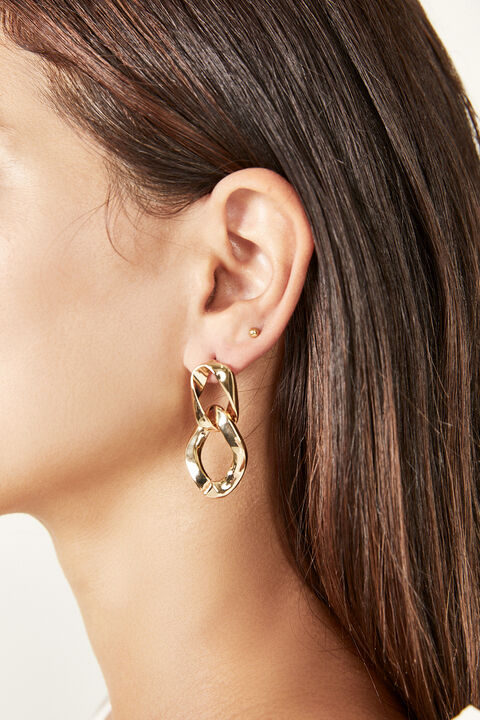 GEORGIE EARRING  in colour GOLD EARTH