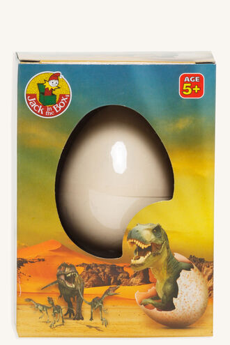 GROWING DINO EGG in colour ANTHRACITE