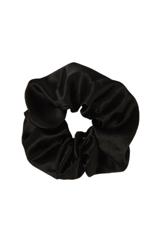 SATEEN SCRUNCHIE in colour METEORITE