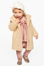 IZZY LONG COAT in colour ANTIQUE WHITE