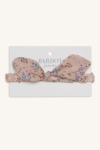 MINOLI BOW HEADBAND in colour BRIGHT WHITE