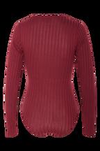 MERISSA BODYSUIT in colour WINETASTING