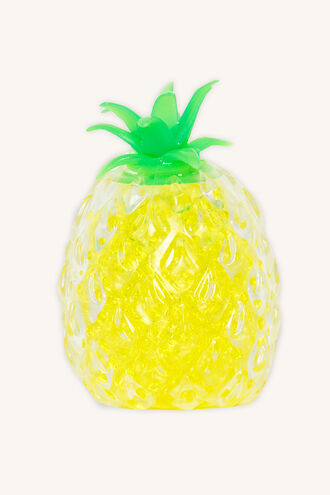 SQUISHY WATER ORB PINEAPPLE in colour BRIGHT WHITE