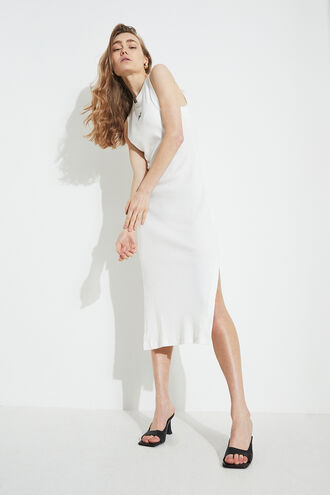 SEMRA BASIC DRESS in colour ORCHID BLOOM