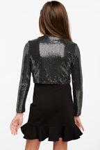 LIANA PONTI SKIRT in colour JET BLACK