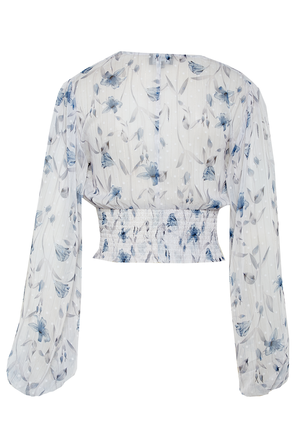 MABEL TOP in colour BIT OF BLUE