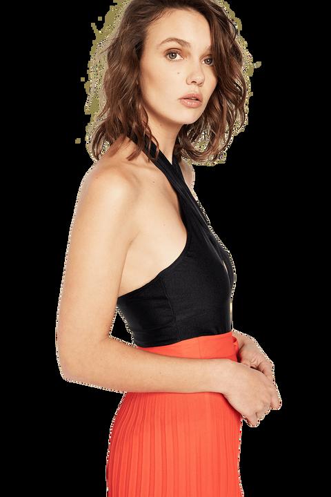 JOESPHINE BODYSUIT in colour CAVIAR