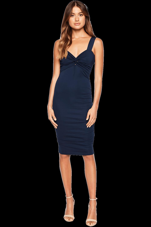 VALENTINE DRESS in colour DRESS BLUES
