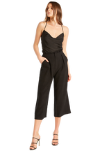 NATALIE CULOTTE PANT in colour CAVIAR
