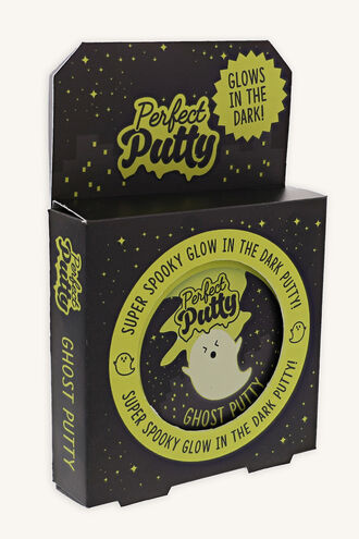 GHOST PUTTY - GLO IN THE DARK in colour YELLOW CREAM