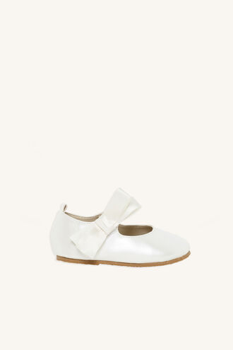 TODDLER BOW MARY JANE SHOE in colour CLOUD DANCER