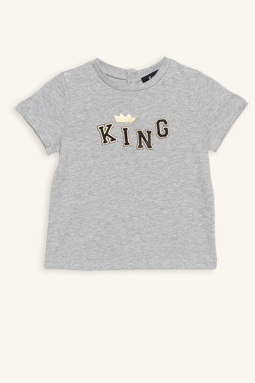 KING TEE in colour VAPOR BLUE