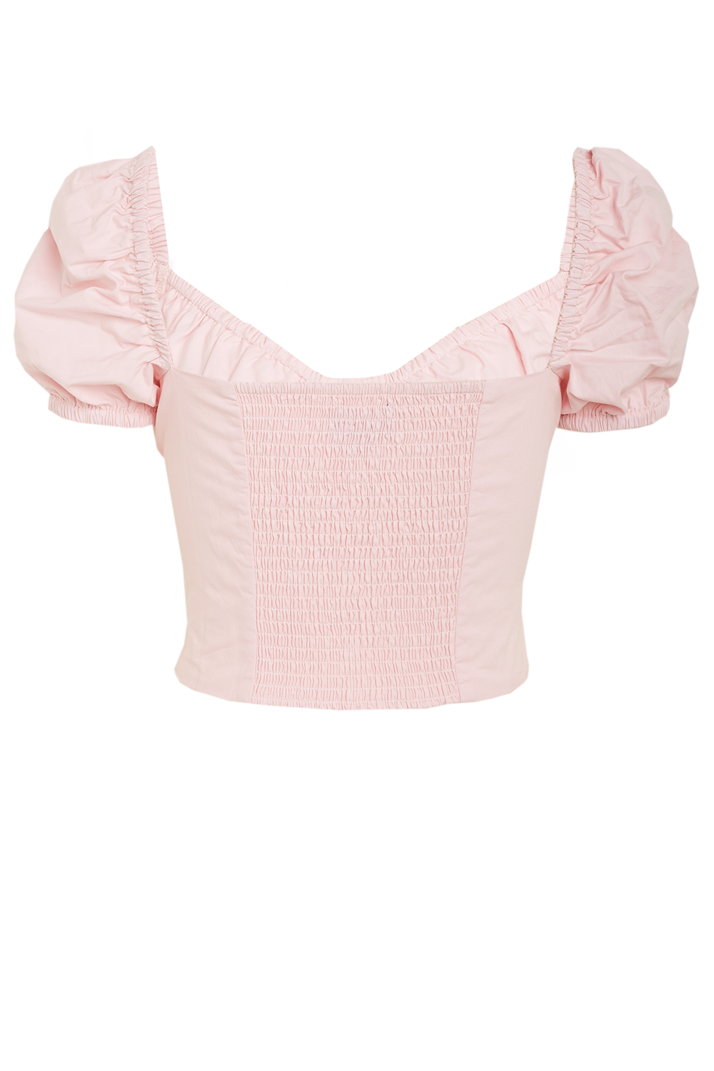 CHRISTIE TOP in colour PARFAIT PINK