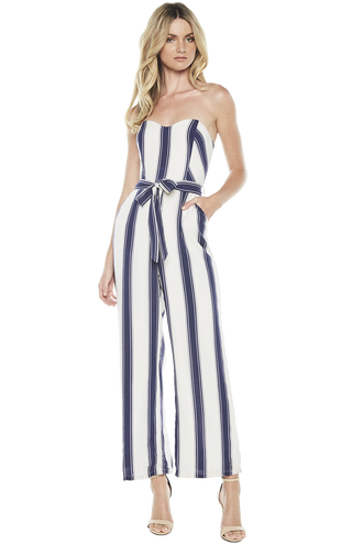 EVIE JUMPSUIT in colour CLOUD DANCER