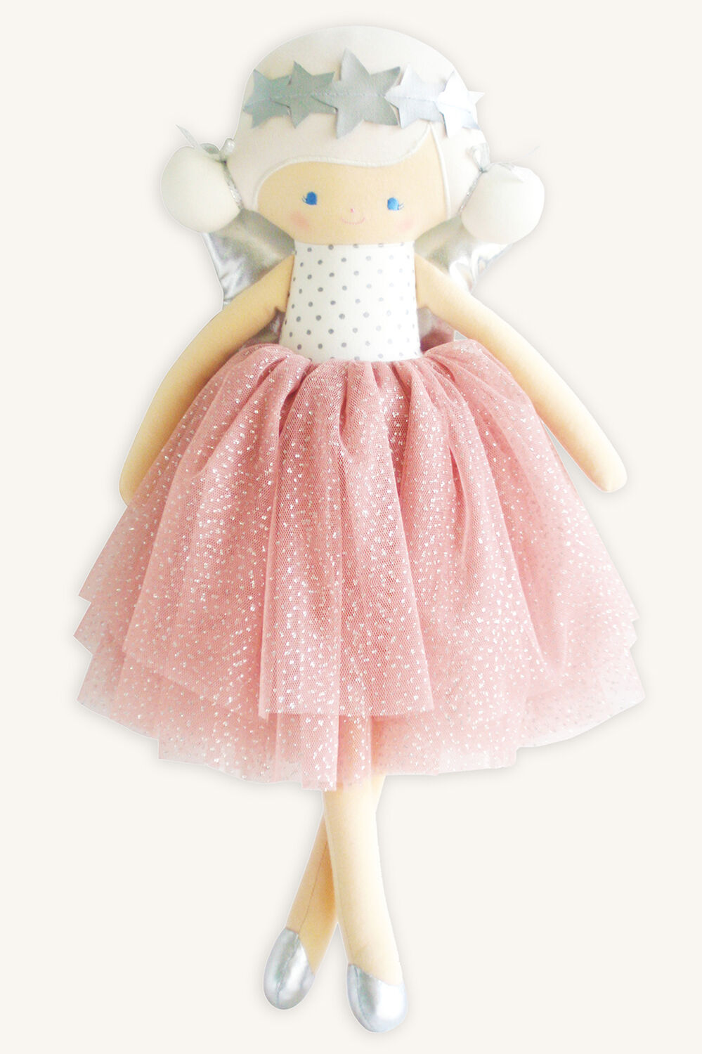 STELLA ANGEL DOLL in colour PINK CARNATION