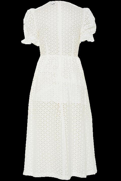 JORDAN LACE DRESS in colour CLOUD DANCER
