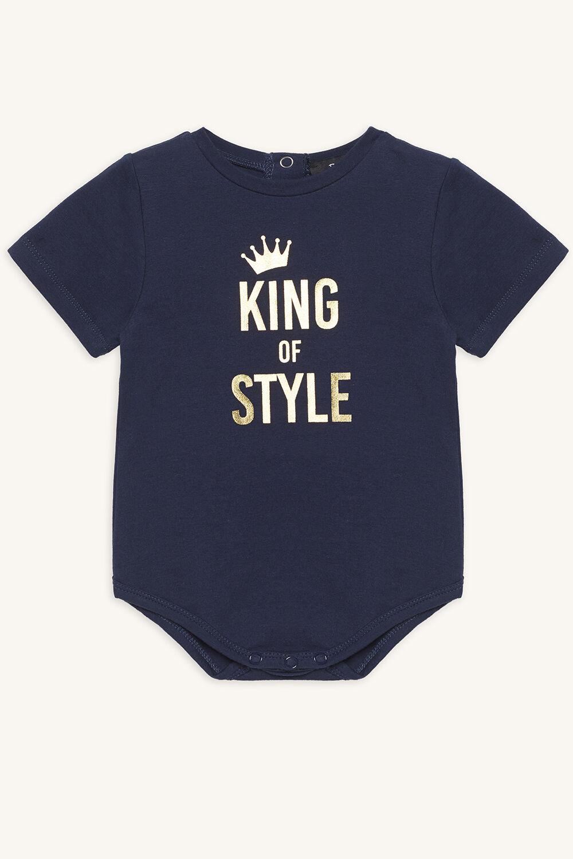 KING OF STYLE GROW in colour BLACK IRIS