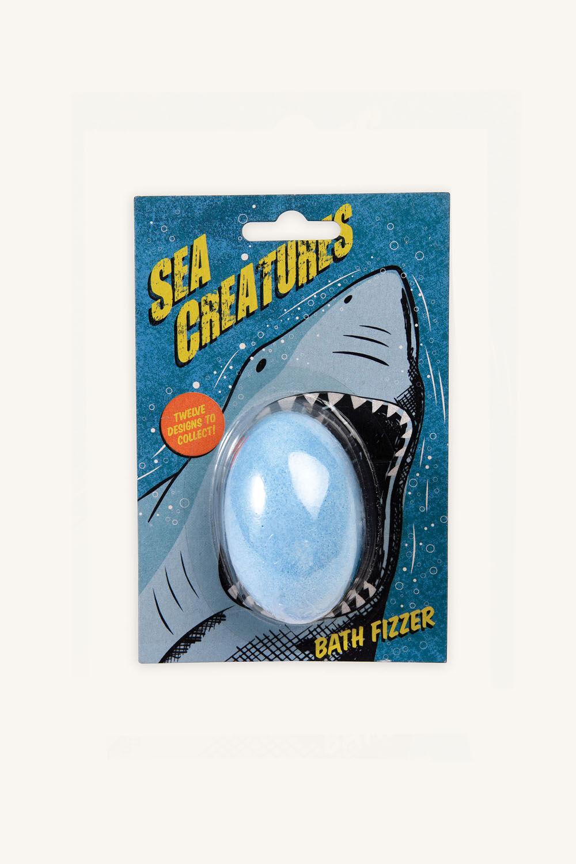 BATH FIZZER - SEA CREATURES in colour BLUE BELL