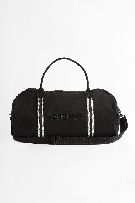 BARDOT WEEKENDER BAG in colour CAVIAR