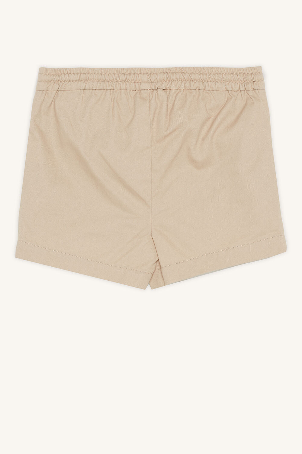 BABY BOY piped short in colour WHITECAP GRAY
