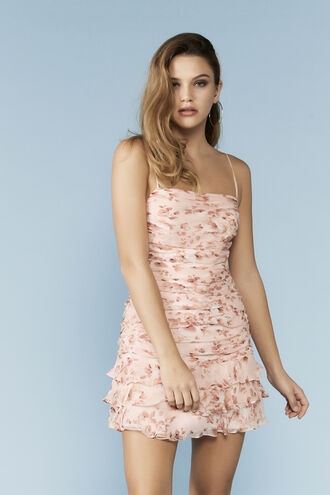 The Remi Floral Dress in colour