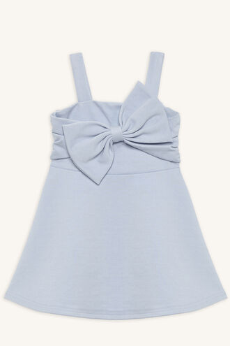 SABE BOW DRESS in colour BALLAD BLUE