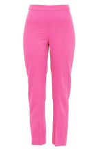 AMALFI SPLIT PANT in colour SHOCKING PINK