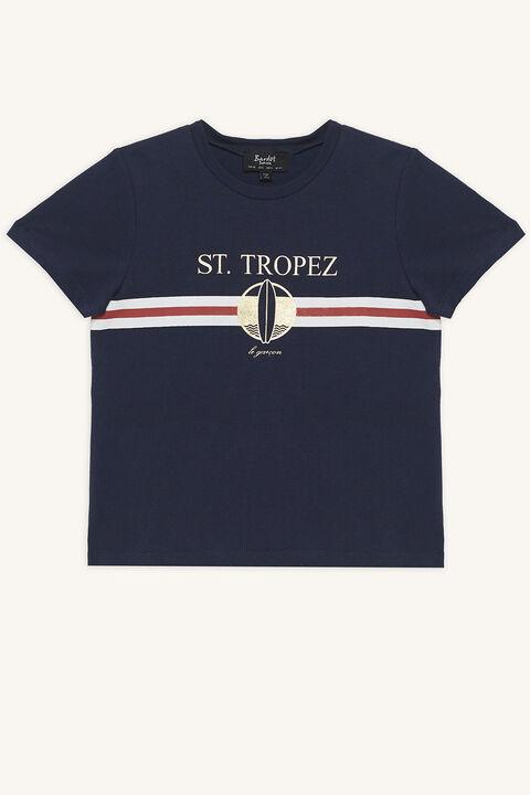 ST TROPEZ TEE in colour DRESS BLUES