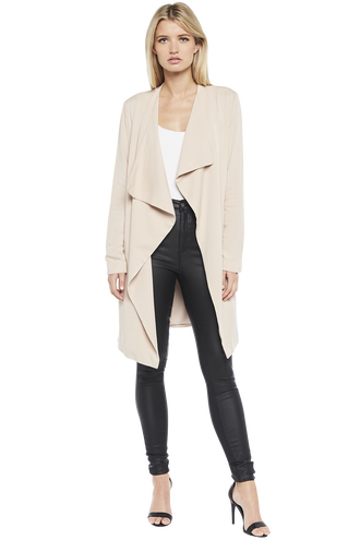 WATERFALL TRENCH COAT in colour MOONLIGHT