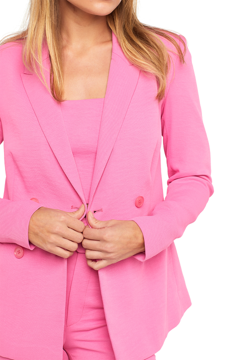 PARISIENNE BLAZER in colour SACHET PINK