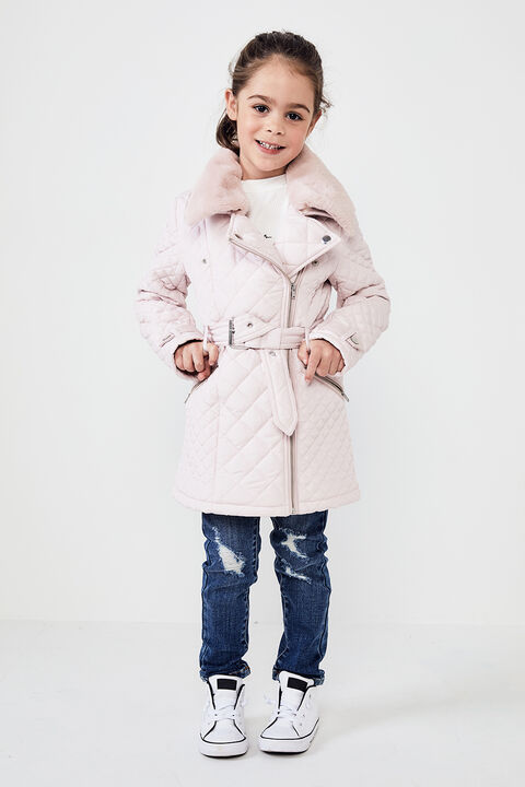 JUNIOR GIRL GRACE QUILTED COAT