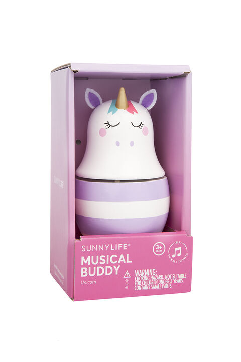 MUSICAL BUDDY - UNICORN in colour CLOUD DANCER