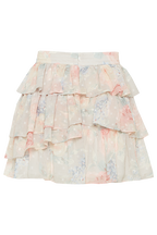 DOBBY GYPSY SKIRT in colour BIRCH