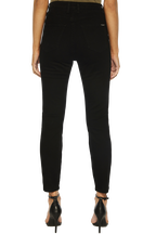 SIENNA SUPER HIGH JEAN in colour JET BLACK