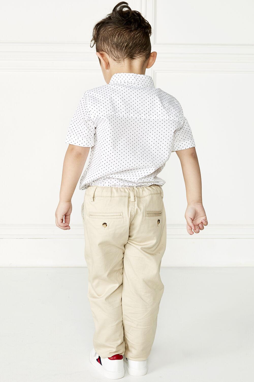 LIAM SPOT SHIRT in colour BRIGHT WHITE