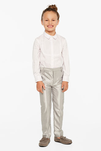 LEX CHINTZ SUIT PANT in colour LUNAR ROCK