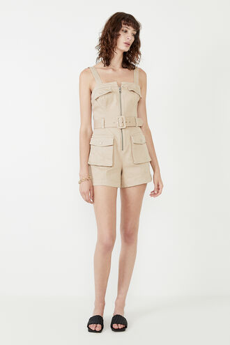 ANIKA PLAYSUIT in colour FOG
