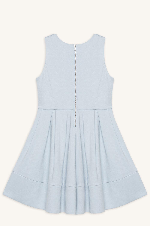 AVA PONTE DRESS in colour BALLAD BLUE