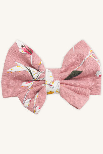 HILDE BOW CLIP in colour BLUSHING BRIDE
