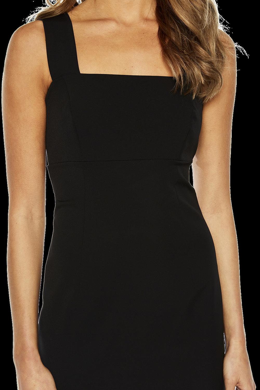 CLEO DRESS in colour CAVIAR
