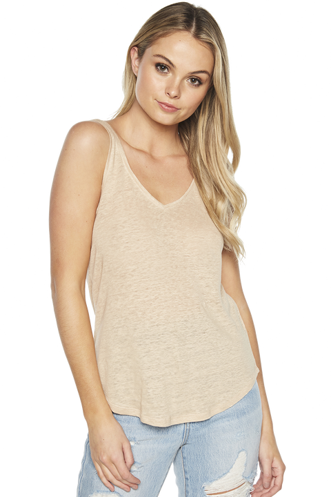RIKI TANK TOP in colour MOONLIGHT