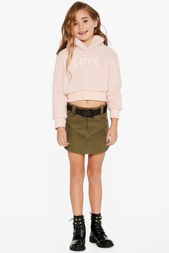 ZADIE CARGO SKIRT in colour MOON MIST