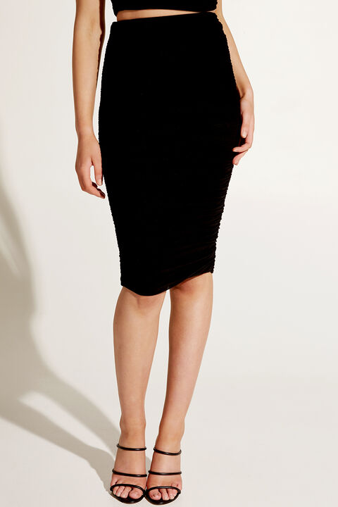 ALYX SKIRT in colour CAVIAR