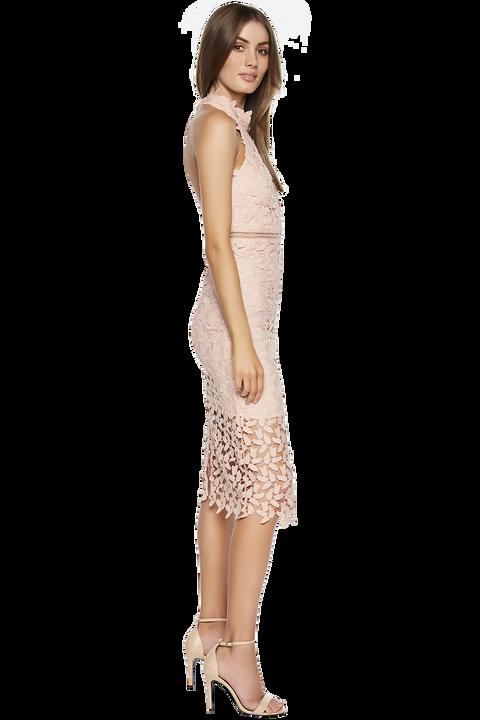 Gemma Dress in colour ROSEWATER
