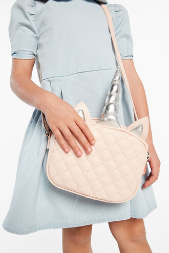 UNICORN HORN BAG in colour PINK CARNATION