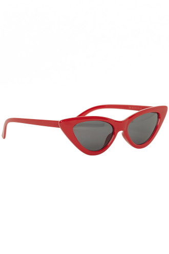 WINTER CAT SUNGLASSES in colour RED BUD