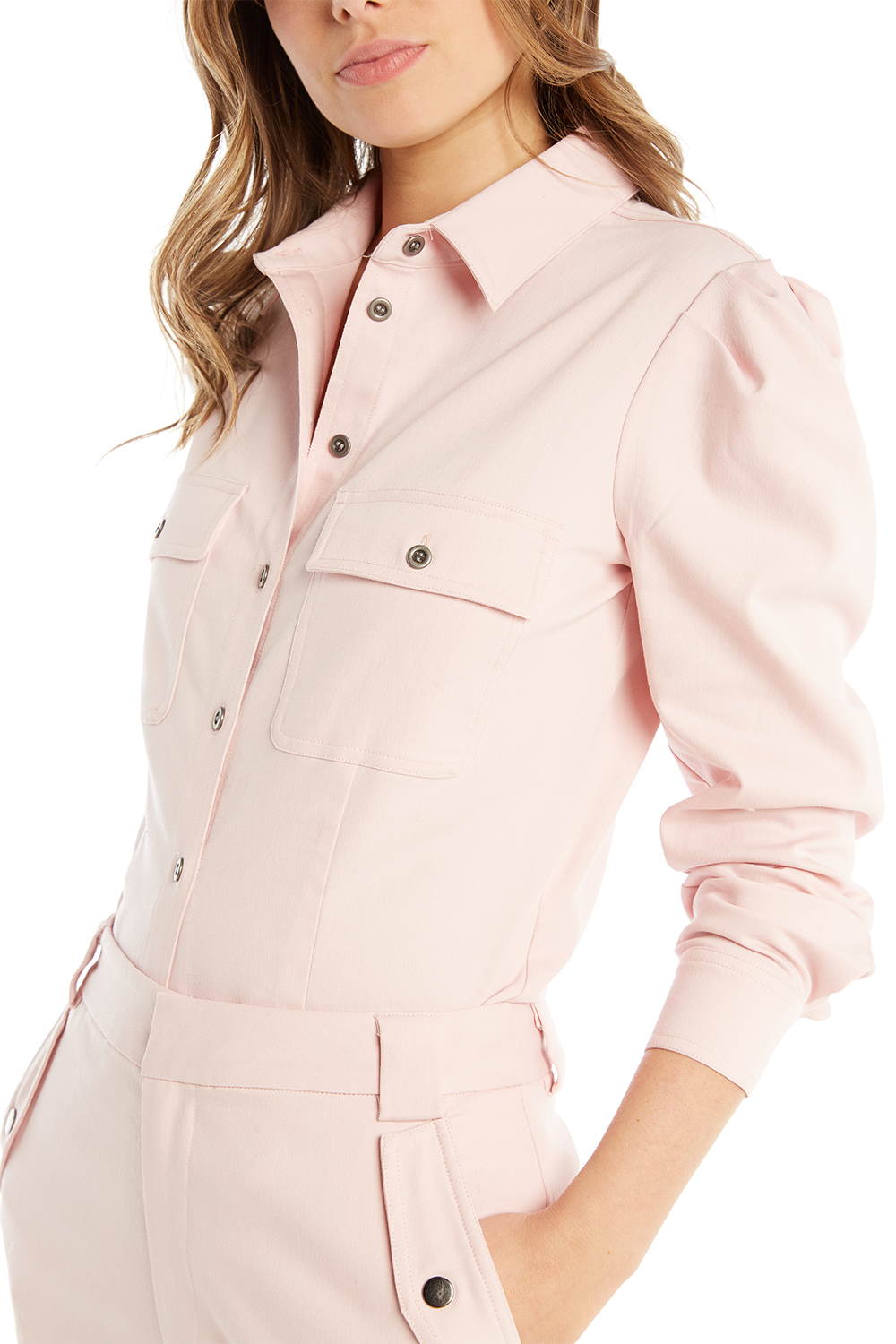 CARGO SHIRT in colour PALE DOGWOOD